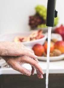 North Shore hand Therapy washing hands